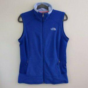 The North Face Full Zip RDT 100 Fleece Vest Blue